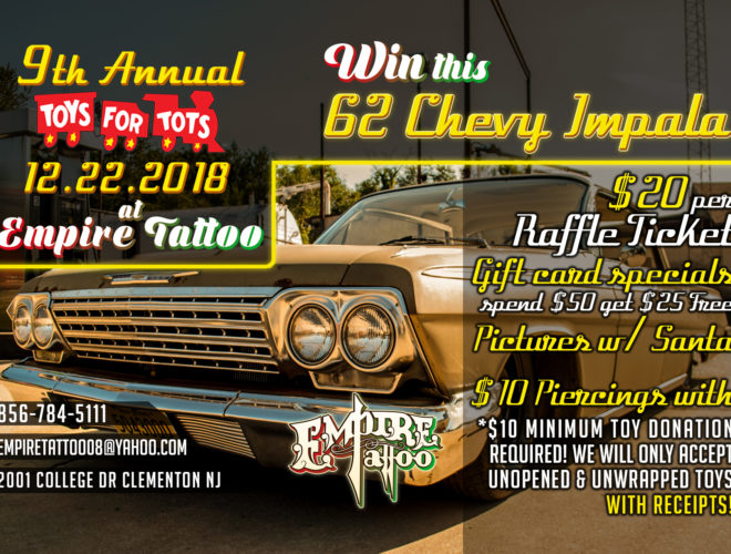 New Jersey Toys for Tots 2018 !